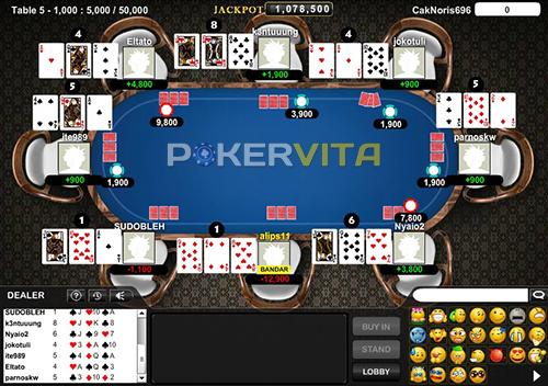 permainan sakong pokervita