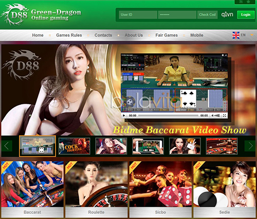 screenshoot casino gd88 green dragon