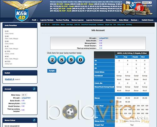 screenshoot panel dalam klik4d