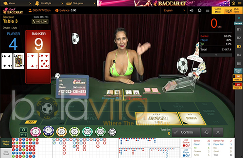 screenshoot sexy baccarat sv388
