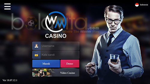 screenshoot tampilan wmcasino