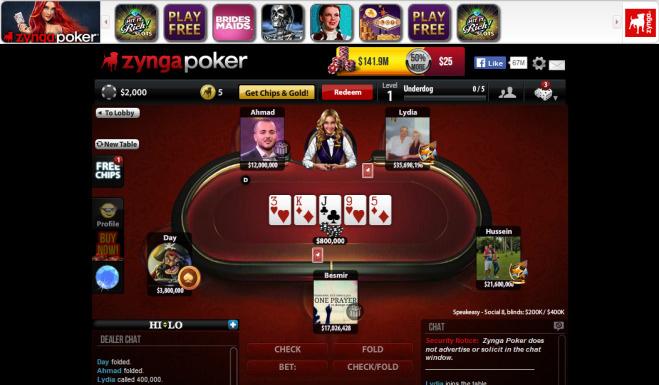 tampilan zynga poker