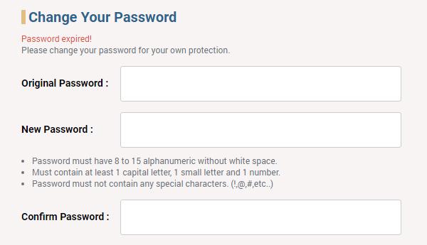 change password sv388