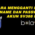 Cara Mudah Mengganti Nickname dan Password Awal SV388