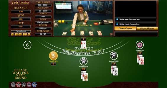 meja blackjack sbobet