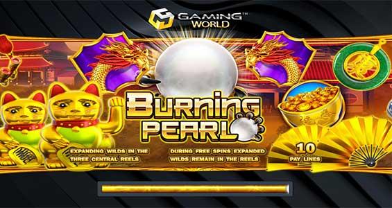tampilan depan burning pearl