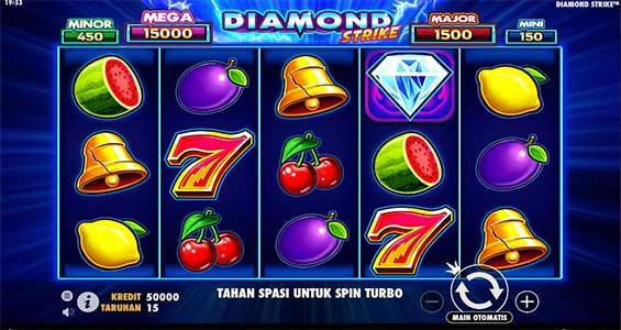 tampilan depan diamond strike