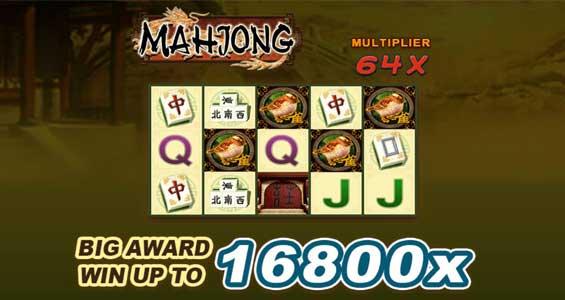 tampilan depan mahjong slot