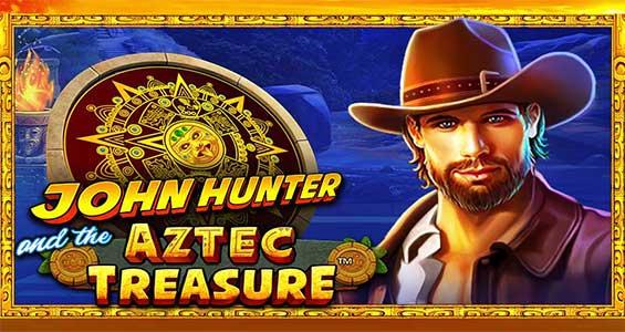 tampilan john hunter aztec treasure slot