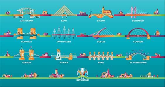 list stadion euro 2020