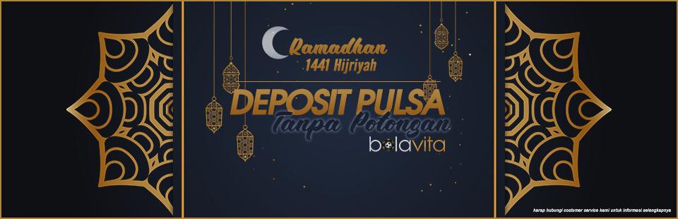 Deposit Pulsa Spesial Bulan Puasa