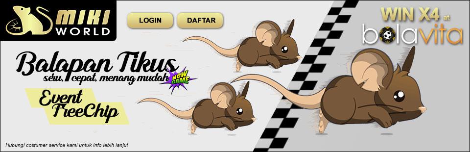 Judi Balapan Tikus Oi
