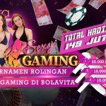 Turnamen Rollingan Sexy Gaming TOTAL HADIAH 149 Juta Rupiah